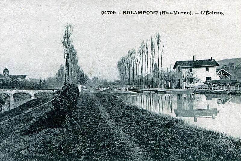 Canal : Rolampont